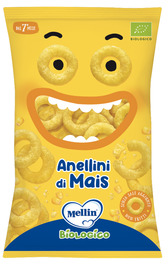 Image of Anellini Di Mais Mellin 15g