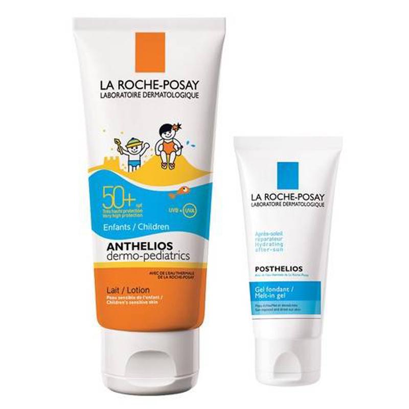 Image of Anthelios Bambini Latte Solare SPF50+ La Roche Posay + Posthelios Dopo Sole Confezione Promo