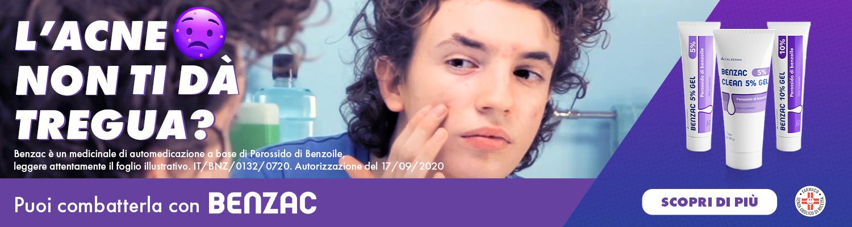 Benzac per combattere l'acne