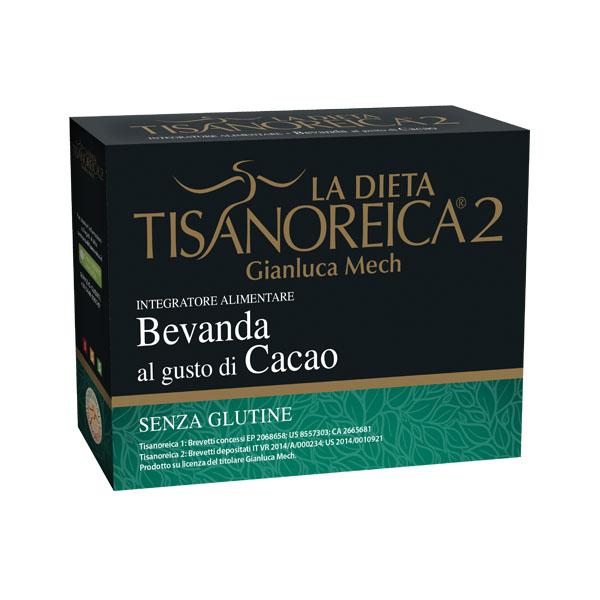 Ginaluca Mech La Dieta Tisanoreica 2 Bevanda Al Gusto Cacao Senza Glutine 4x31,5g