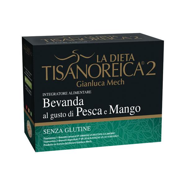 Gianluca Mech La Dieta Tisanoreica 2 Bevanda Al Gusto Di Pesca E Mango Senza Glutine 4x29g