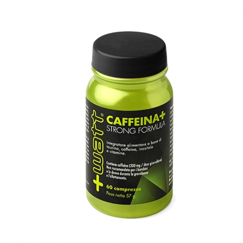 Caffeina+ Strong Formula +Watt 60 Compresse