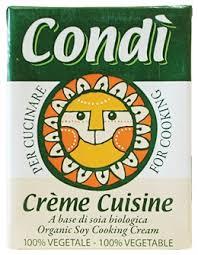 Crème Cuisine Soia Biologica Condì 200ml