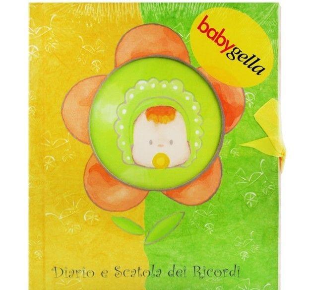 Image of Diario E Scatola Dei Ricordi Babygella 3 Pezzi