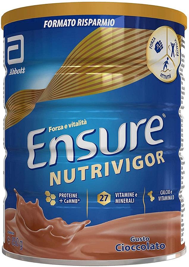 Ensure NUTRIVIGOR Cioccolato Abbott 850g