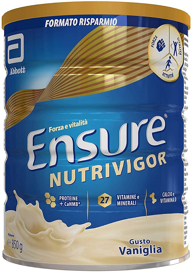 Ensure NUTRIVIGOR Vaniglia Abbott 850g
