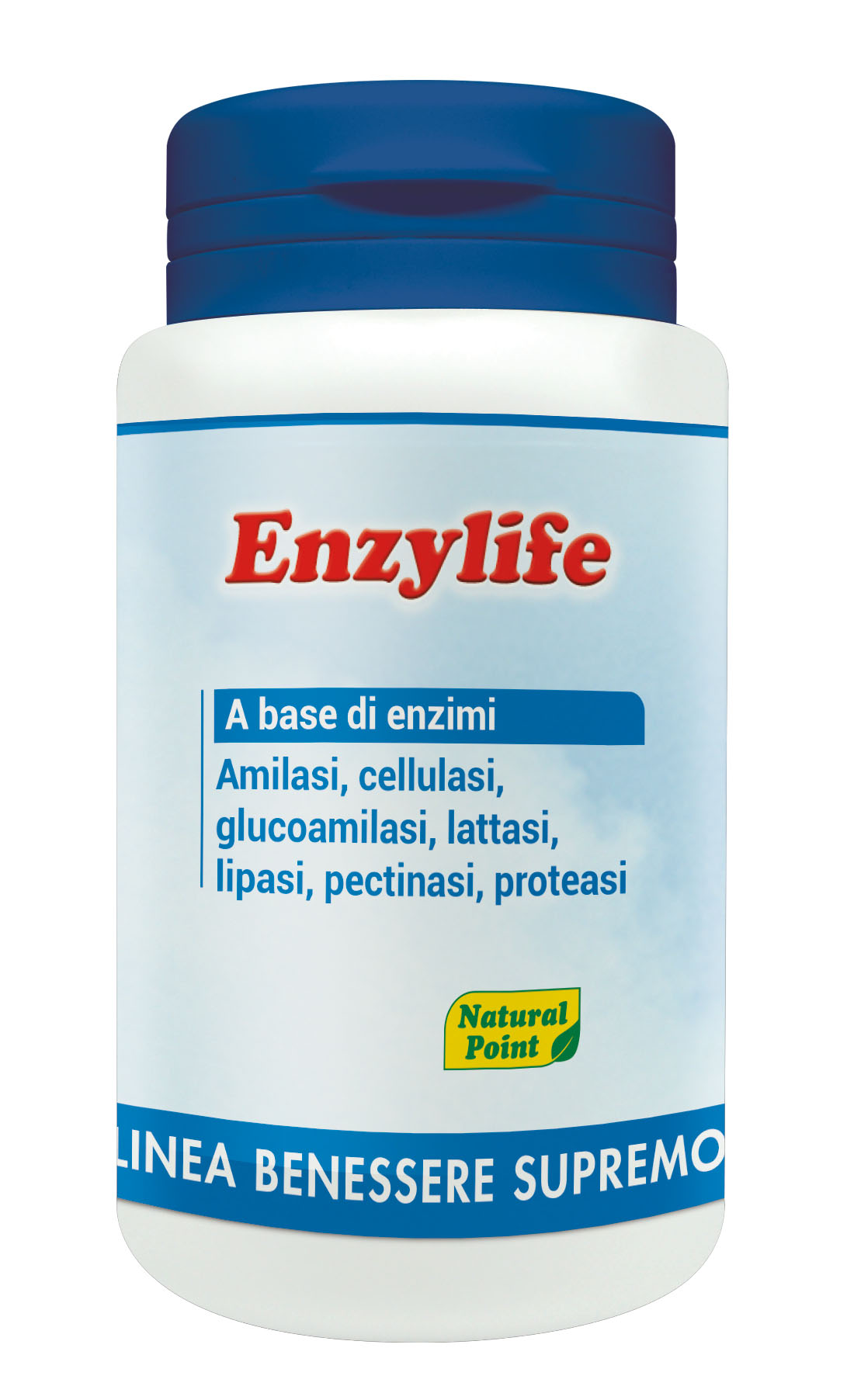 Enzylife Linea Benessere Supremo Natural Point 120 Capsule