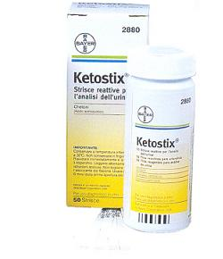 Image of Ascensia Diabetes Care Ketostix Chetonuria 50 Strisce Reattive 908575855