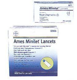 Image of Ames Minilet Lancet 200pz 908170499