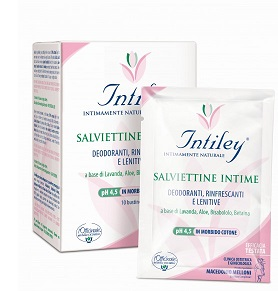 Intiley Salviettine Intime 10p