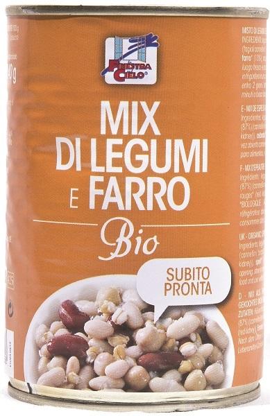 Mix Pronto Farro/legumi Bio