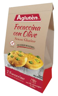 Image of Agluten Focaccina Olive 100g 921714655