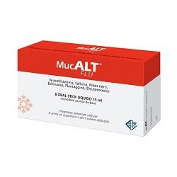 Image of Mucalt Flu 8 Oral Stick Monod 930194360