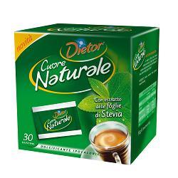 Image of Dietor Cuore Naturale 30 bustine Estratto Foglie di Stevia 931500197
