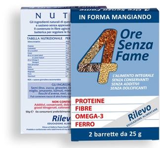 Image of 4 Ore Senza Fame Barretta Proteica 2x25g 922926593