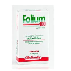 Image of Folium Compresse 400 30cpr 930547308