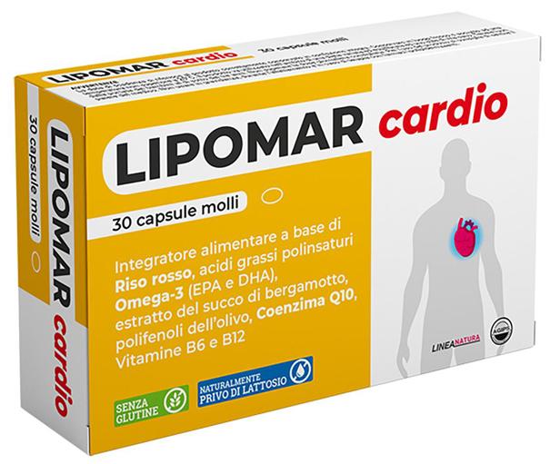 Image of Lipomar Plus 30cps Molli 930996412