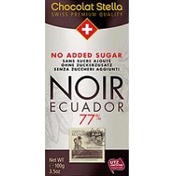 Image of Chocolat Stella Noir 77% Equad 932744459