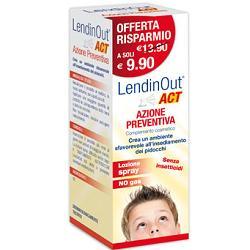 LendinOut Act Azione Preventiva Pidocchi Spray 100ml