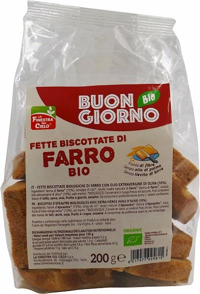 Fette Biscottate Farro Bio S/l