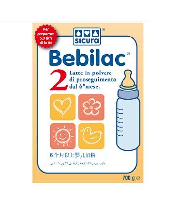 Image of Bebilac 2 Latte Polv 700g 927221174
