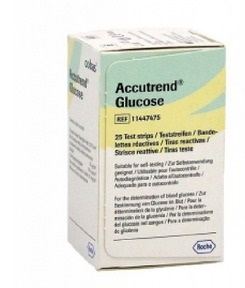 Image of Accutrend Glucose 25str 930678356