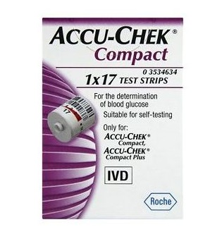 Image of Accu-chek Compact Str 1x17pz 930174368
