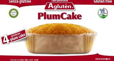 Image of Agluten Plum Cake Sernza Glutine 4x40g 970536557