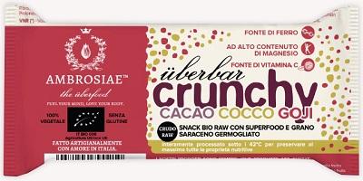 Image of Uberbar Crunchy Cacao Coc Goji 970486508