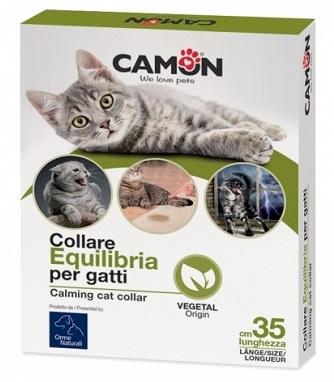 Image of Camon Collare Equilibria Per Gatti Aiuta A Ridurre Lo Stress 971176387