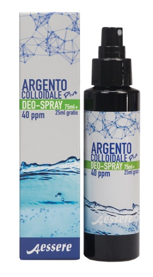 Image of Argento Colloidale Plus Deo Spray 75 ml + 25 ml Omaggio 970297608