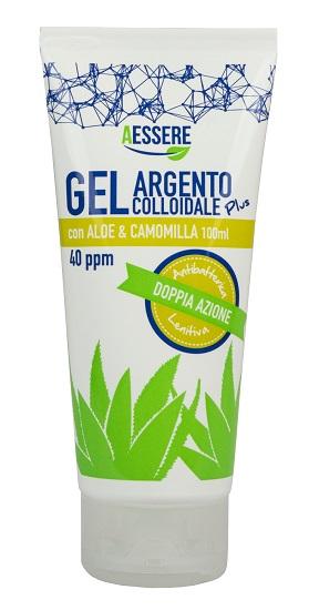 Image of Aessere Argento Colloidale Plus Gel Con Aloe E Camomilla 100ml 971677087