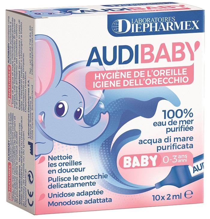 Image of Diepharmex Audibaby Igiene Uditiva Dei Bimbi 10 Flaconi 2ml 972195945