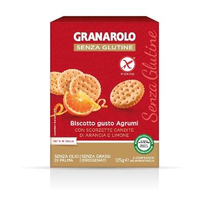 Image of Granarolo Biscotto Gusto Agrumi Senza Glutine 125g 973210887