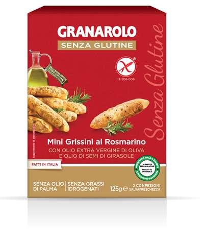 Image of Granarolo Mini Grissini Al Rosmarino Senza Glutine 125g 973210901