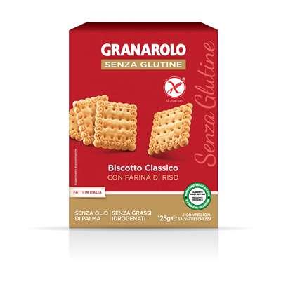 Image of Granarolo Biscotto Classico Senza Glutine 125g 973210875