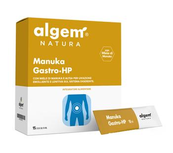 Image of Algem Manuka Gastro Hp Integratore Alimentare Senza Glutine 15x10ml 974402671