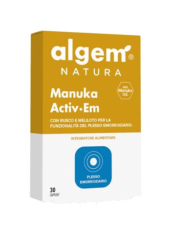 Image of Algem Manuka Activ Em 30Capsule 974402683