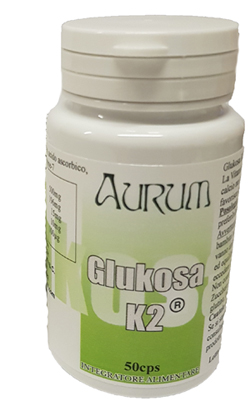 Image of Aurum Glukosa K2 Integratore Alimentare 50 Capsule 942007687