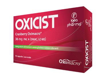 Image of Igea Pharma Oxicist Cranberry Oximacro Integratore Alimentare 15 Capsule 975017221