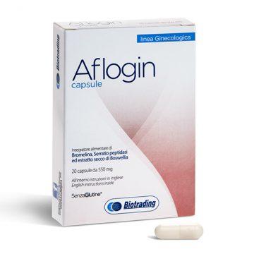 Image of Biotrading Aflogin Integratore Alimentare 20 Capsule 935809552