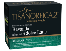 Gianluca Mech La Dieta Tisanoreica 2 Bevanda Al Gusto Di Dolce Latte Senza Glutine 4x28g