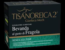 Gianluca Mech La Dieta Tisanoreica 2 Bevanda Al Gusto Di Fragola Senza Glutine 4x27,5g