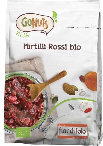 Gonuts Mirtilli Rossi Bio Fior Di Loto 150g