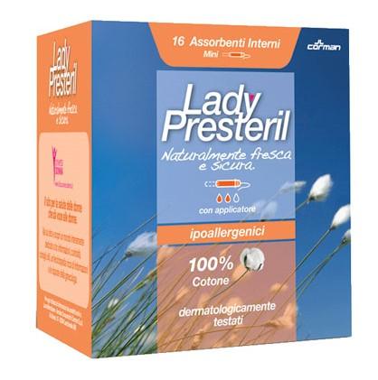 Lady Presteril Mini Corman 16 Pezzi