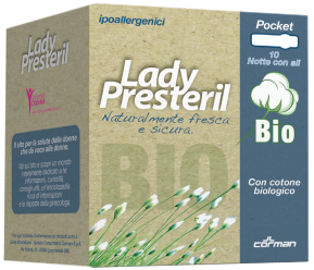 Lady Presteril Bio Notte Corman 24 Pezzi