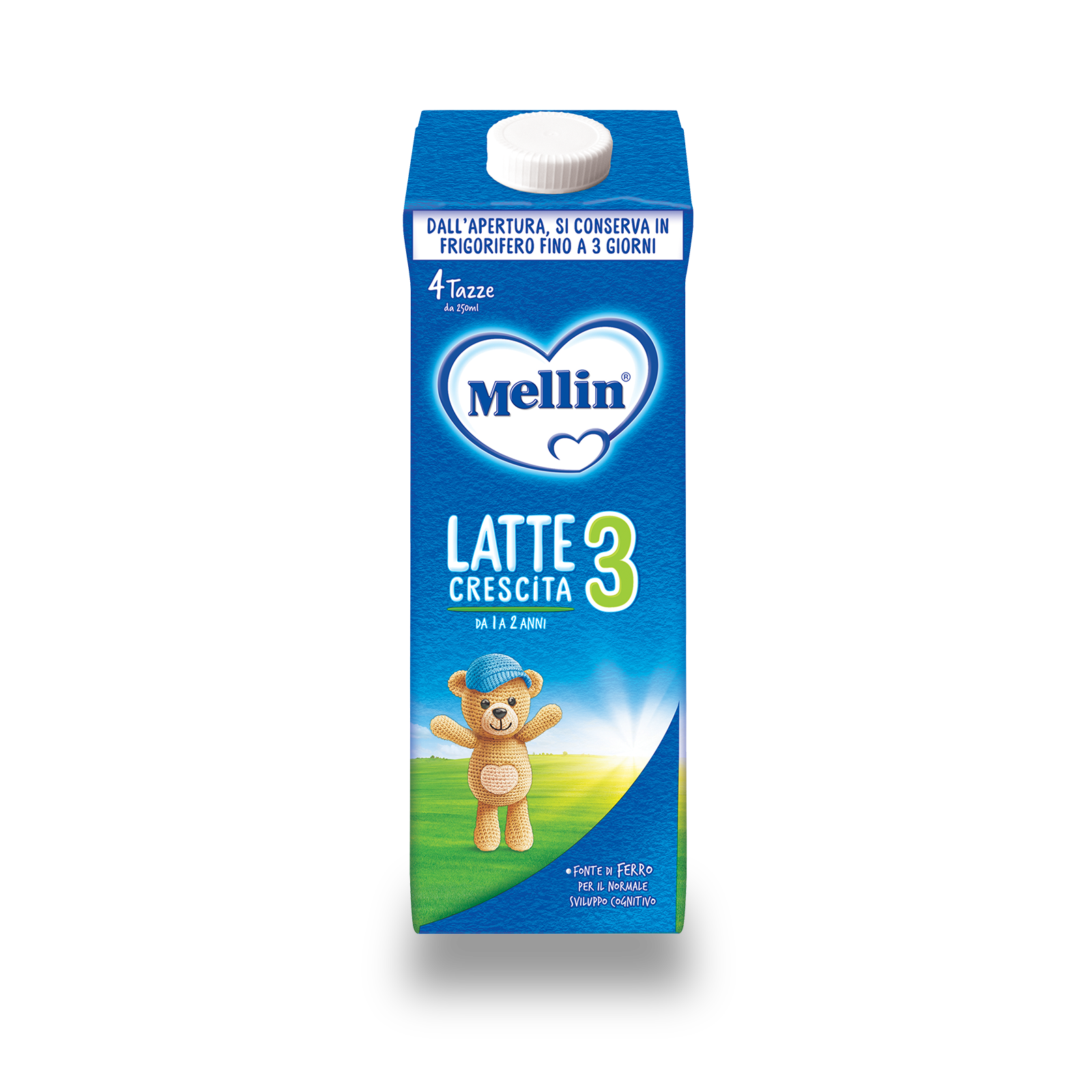 Latte Mellin 3 Liquido 1000ml