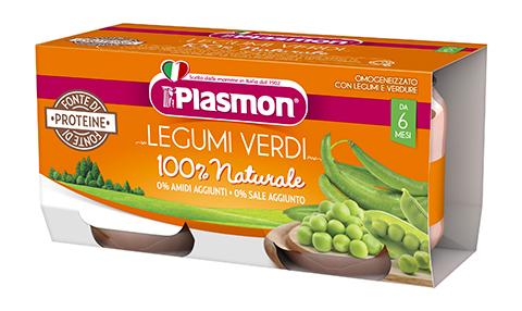 Image of Legumi Verdi Plasmon 2x80g