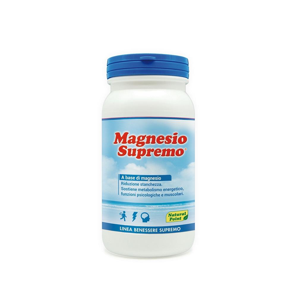 Magnesio Supremo Linea Benessere Supremo Natural Point 150g