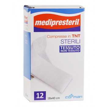 Medipresteril Compresse Tnt Corman 12 Pezzi